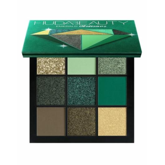 Huda Beauty - Szemhéjpúder paletta -  Emerald Obsessions