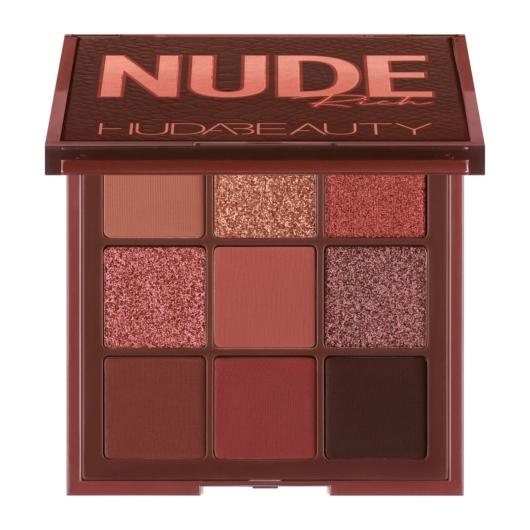 Huda Beauty - Szemhéjpúder paletta - Rich Nude Obsessions
