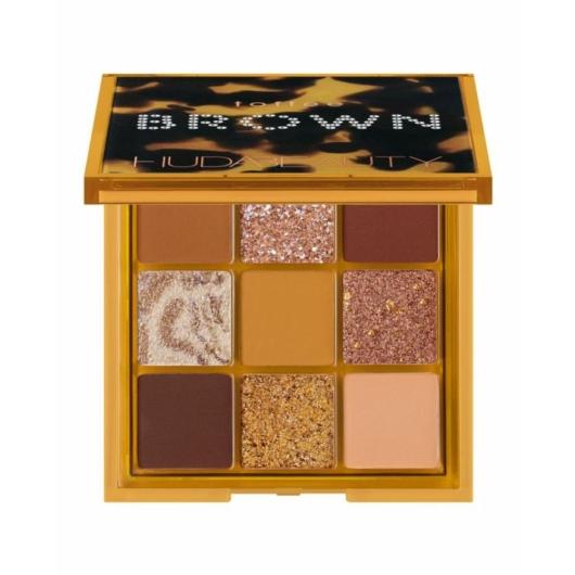 Huda Beauty - Szemhéjpúder paletta - Toffee Brown Obsessions