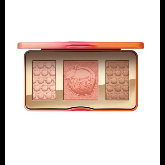 Too Faced -  Highlighter&Pirosító&Bronzosító paletta - Sweet Peach