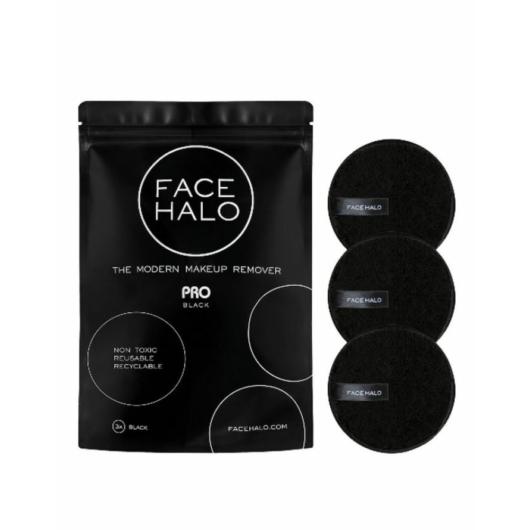Face Halo - Pro (black) - sminklemosó korong - 3 db